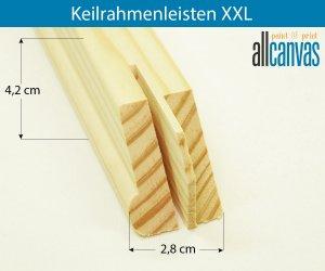 Keilrahmenleisten XXL Rahmenstärke 28x42 mm